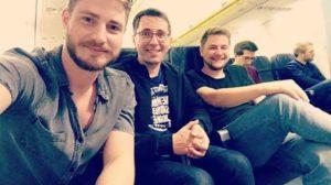 Rückflug aus Berlin
